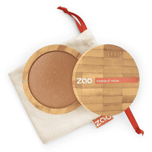 ZAO Mineral Cooked Powder 343 golden bronze